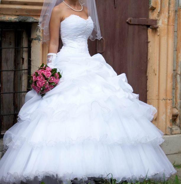 Свадебное платье сделайте