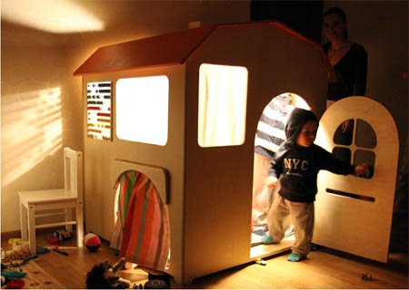 Домик для мальчика своими руками в квартире